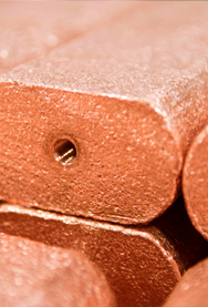 COPPER ANODE BARS