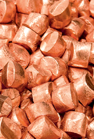 COPPER ANODE NUGGETS
